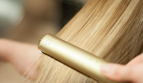 Plattar blont hår, Lycka Frisör & Butik